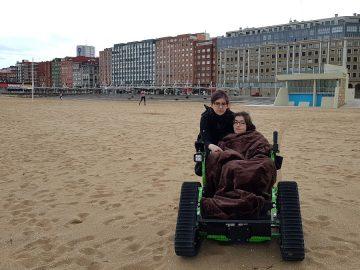 silla de ruedas electrica todoterreno