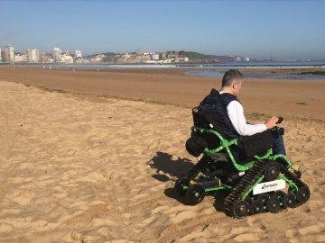 silla ruedas electrica todo terreno