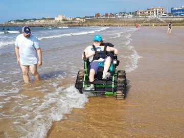 sillas para personas con movilidad reducida